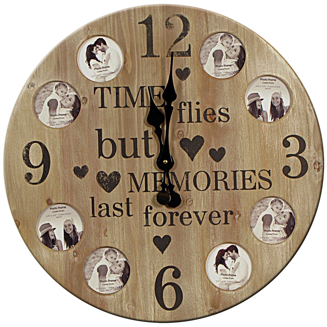 Photo Collage Clock