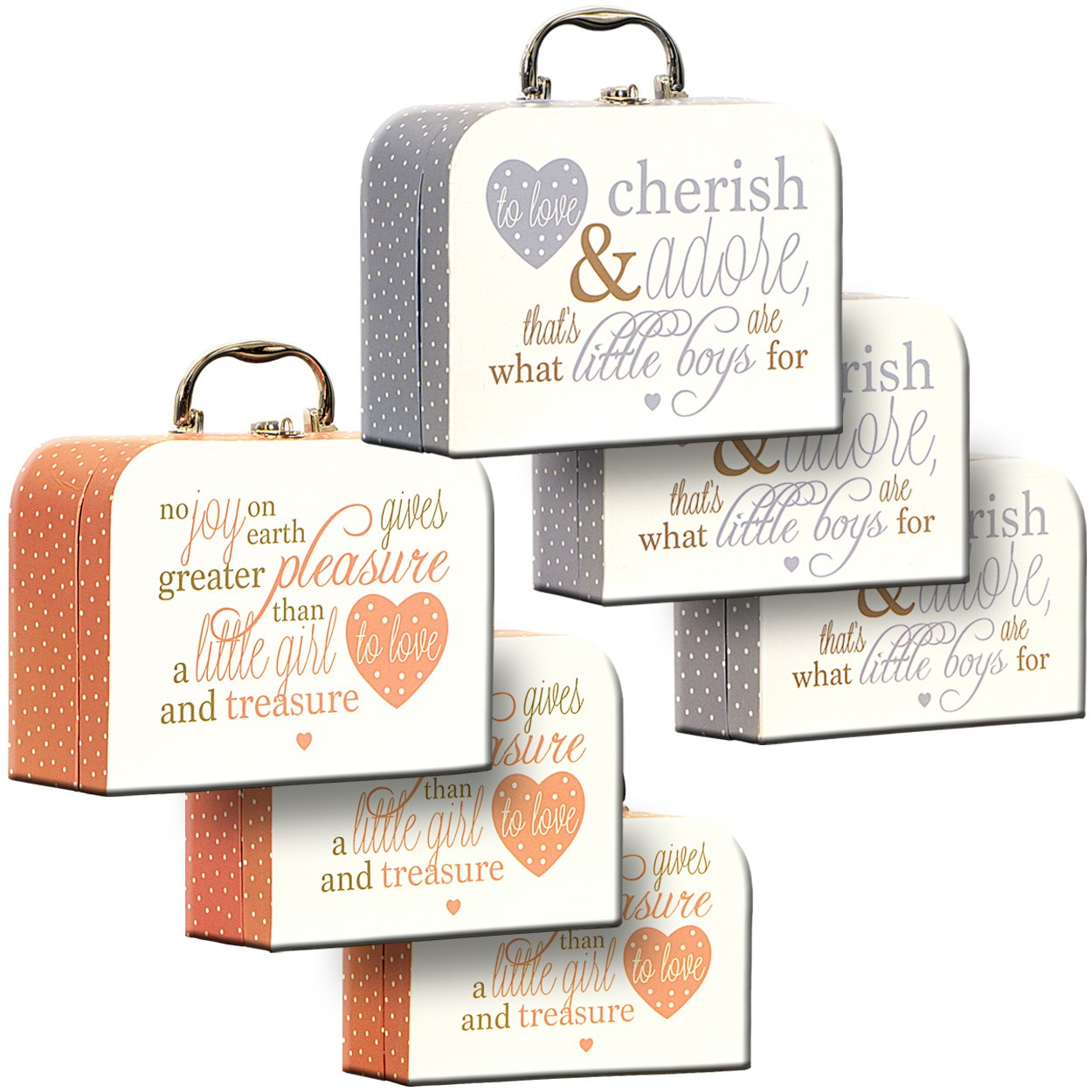 Baby Carry Cases Set/3