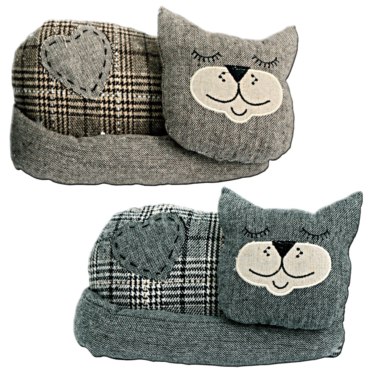 Sleeping Cat Doorstop