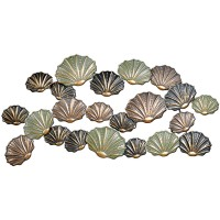 "Metal Wall Art: ""Clam-Shell"""
