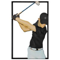 "Metal Wall Art Golfer: ""Fore"""