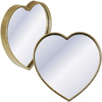 Metal Heart Wall Mirror
