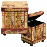 Library Side Tables Set
