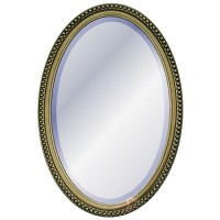 Oval Mirror Champagne