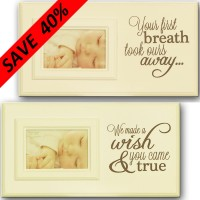 Baby Plaque/Photoframe
