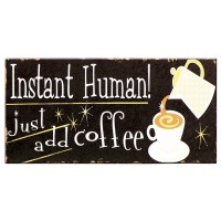 Coffee Plaque