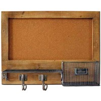Wall Cork Board w. Storage