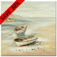 Row Boat Canvas