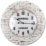 Brick Effect Clock
