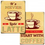 Metal Signs Coffee